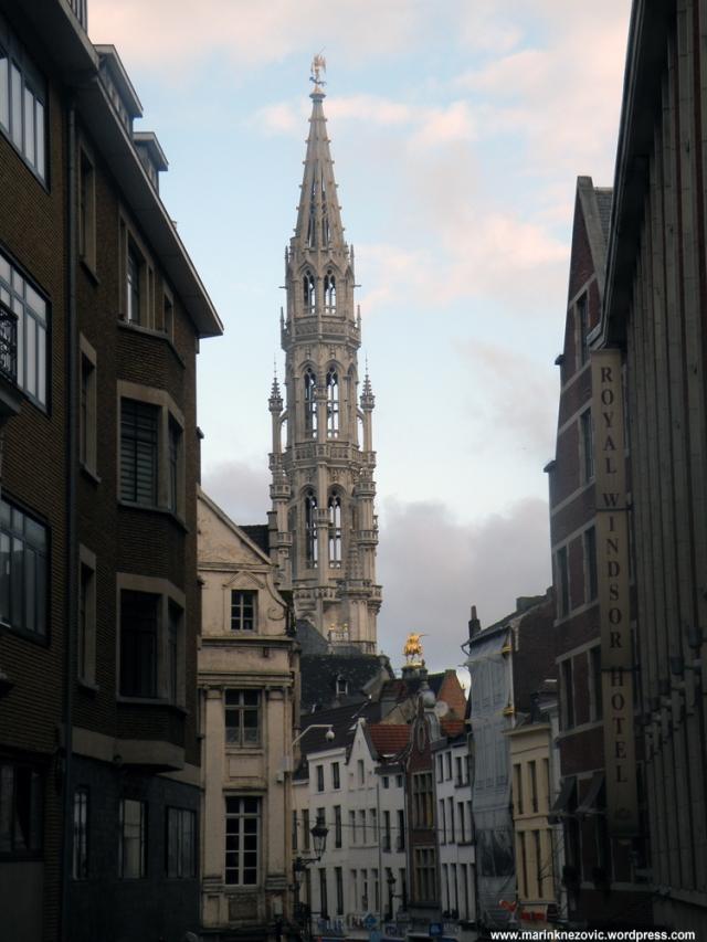 Grand Place, Grote Markt, Veliki Trg Gradska vijećnica
