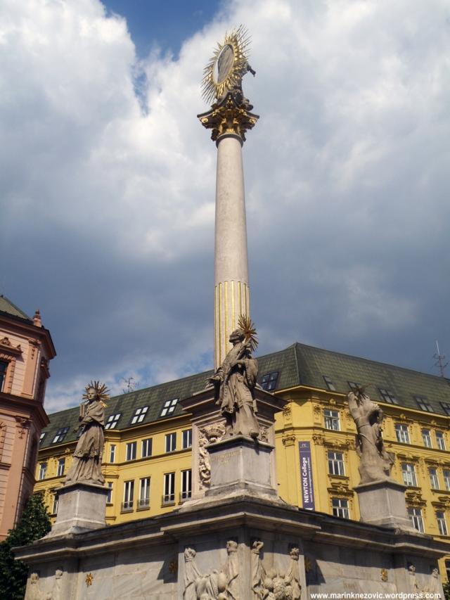 Kugin stup, Plague Column