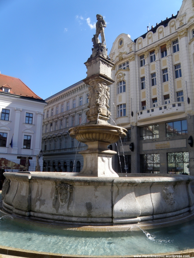 Bratislava Maksimilijanova fontana