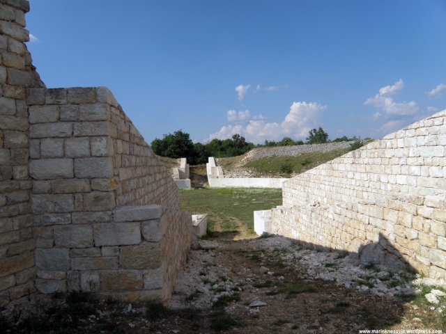Burnum, arena, Kistanje