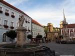 MIkulov, povijesni trg, fontana, Pomona
