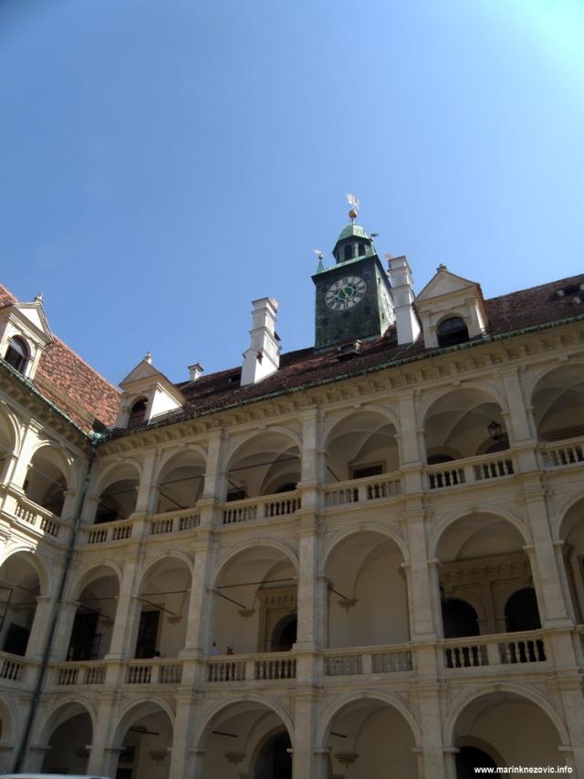 Graz Landhaus Dachreiter