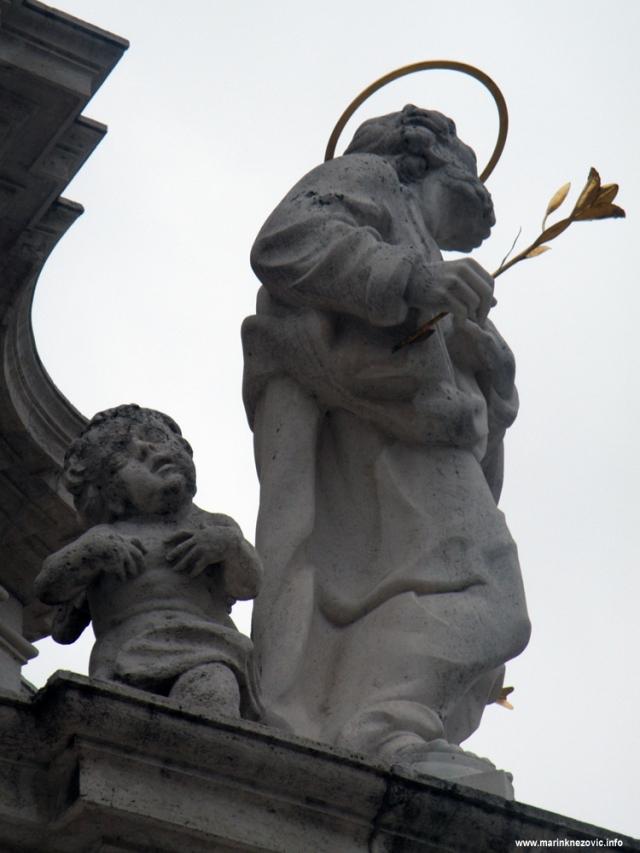 stup Sv. Trojstva , Szentháromság tér,