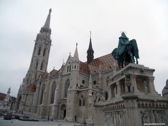 Budim, Szentháromság tér, Mátyás-templom, Matijina crkva, sv. Stjepan