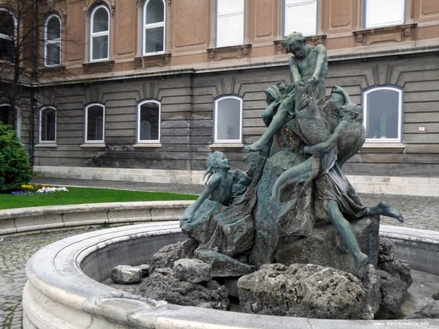 Budim, palača, fontana