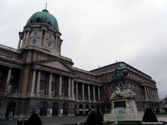 Budim, palača, Eugen Savojski