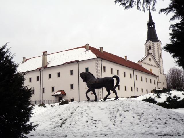 Klanjec, franjevački samostan, Augustinčić