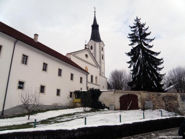 Klanjec, franjevački samostan