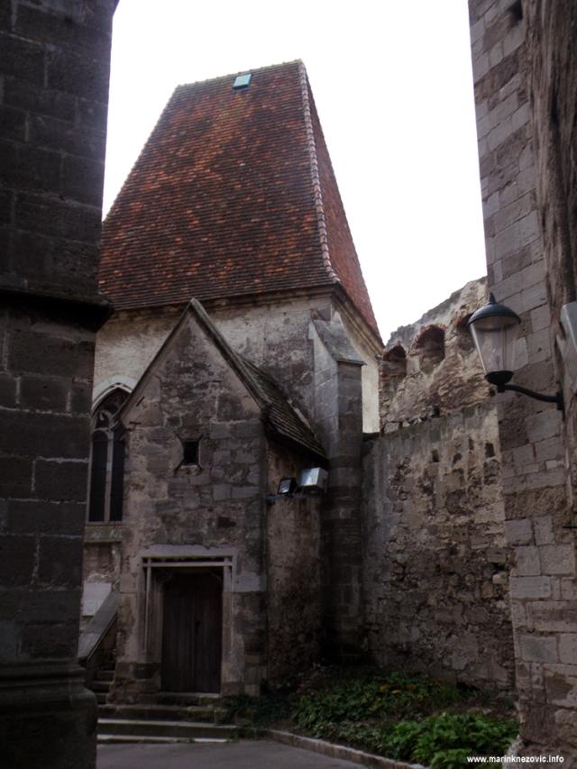 Perchtoldsdorf, dvorac, kapela sv. Martina