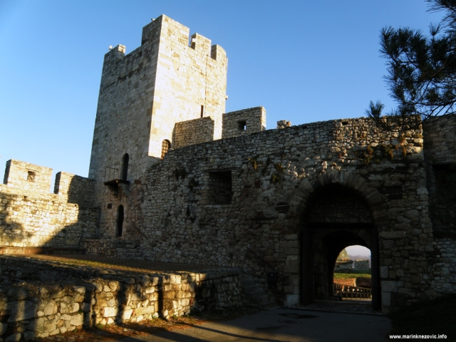 Kalimegdan, Boegrad, tvrđava