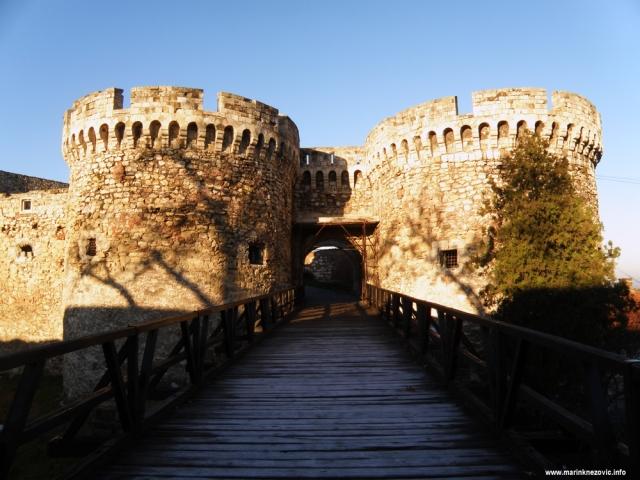 Kalimegdan, Beograd, tvrđava