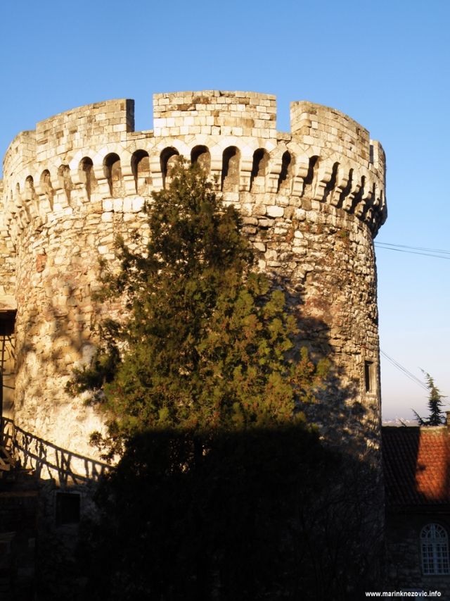 Kalimegdan, Beograd, tvržava