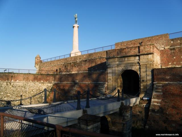 Kalimegdan; Beograd, statua Pobjednika