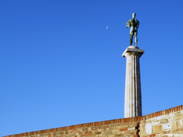 Kalimegdan, Beograd, statua Pobjednika