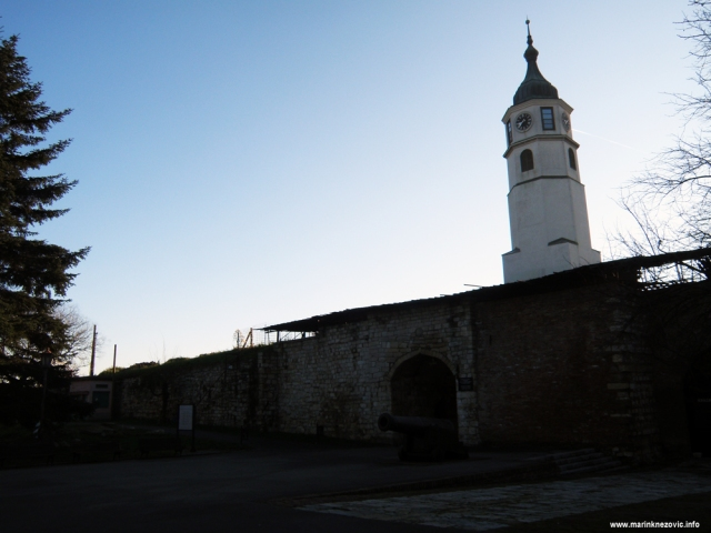 Kalimegdan, Beograd, sat kula