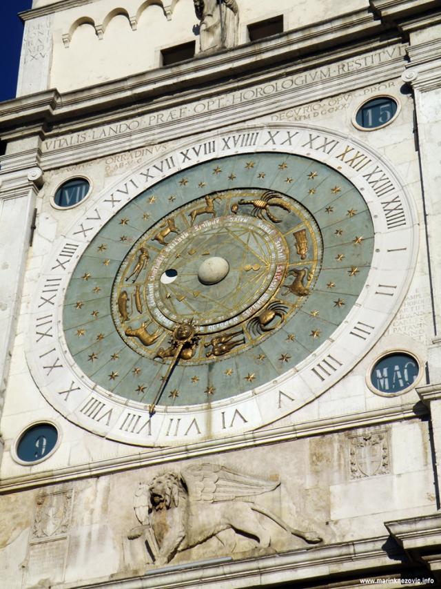 Padova, Piazza dei Signori , Torre dell'Orologio ,