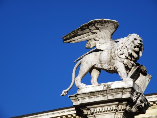 Padova, Piazza dei Signori, La Colonna Marciana