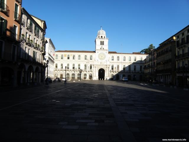 Padova, Piazza dei Signori, Palazzo del Capitanio