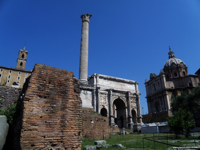 Rim - Slavoluk Septimija Severa
