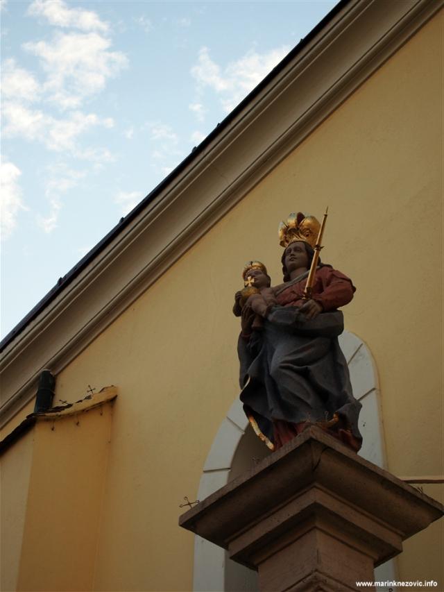 Sambotel, Szombathely, franjevačka crkva
