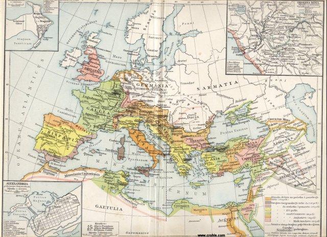 Razvitak rimske države. Okolina Rima. Kartaga. Aleksandrija.
