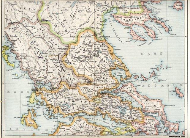 Antička Grčka, sjeverni dio.