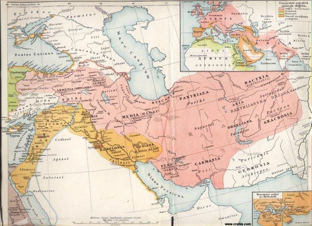 Stari svijet, istočni dio. Etnografski pregled starog svijeta. Herodotov svijet po Niebuhru.