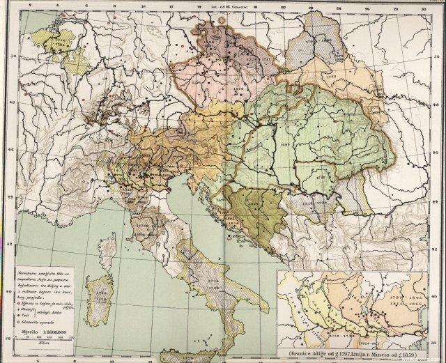 Teritorijalni razvitak Austro-Ugarske u novije doba