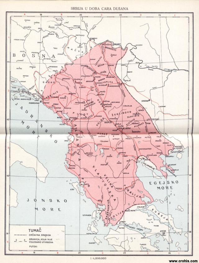 Srbija u doba cara Dušana