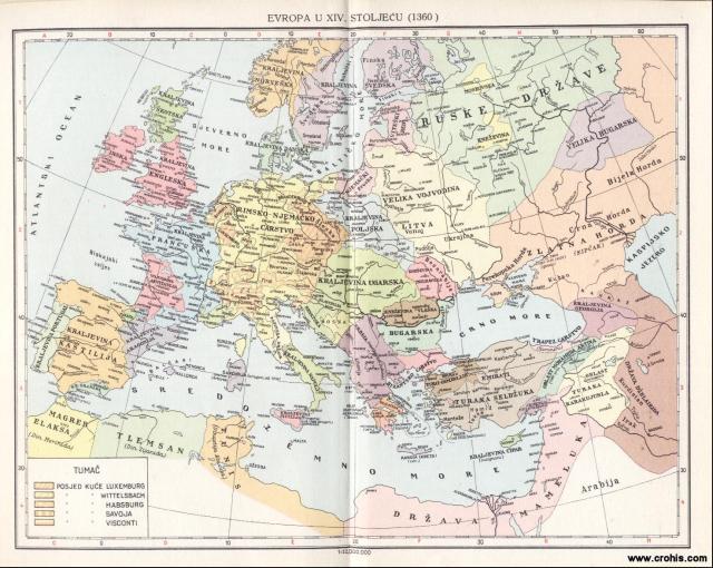 Evropa u 14. stoljeću