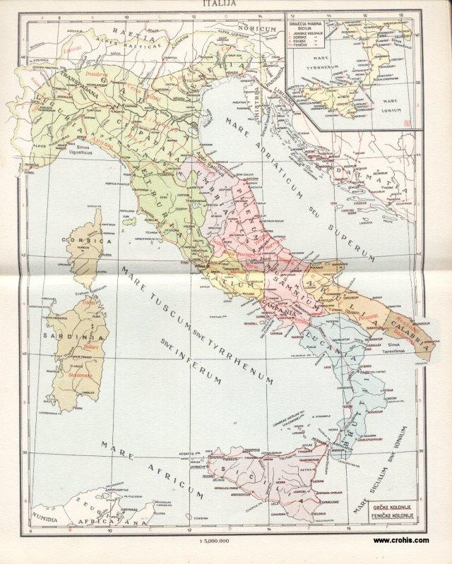 Italija; Graecia Magna, Sicilia