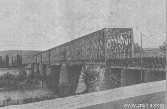 Željeznički most u Brodu na Savi