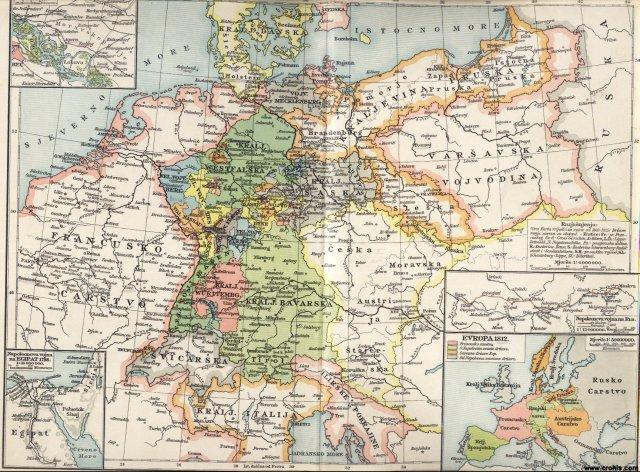 Napoleonsko doba II.; Njemačka godine 1812.; Europa 1812.; Napoleonova vojna na Egipat; Aspern; Essling; Wagram; Napoleonova vojna na Rusiju.