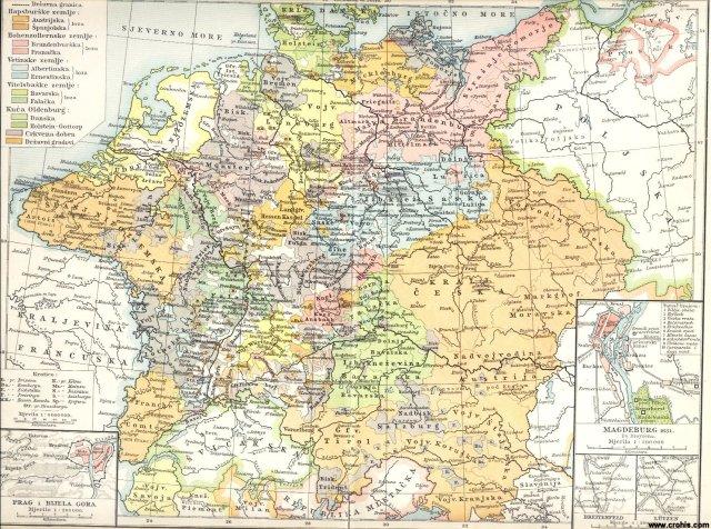 Njemačka u 17. st. (1648.); Prag i Bijela gora; Magdeburg 1631.; Breitenfeld; Lützen.