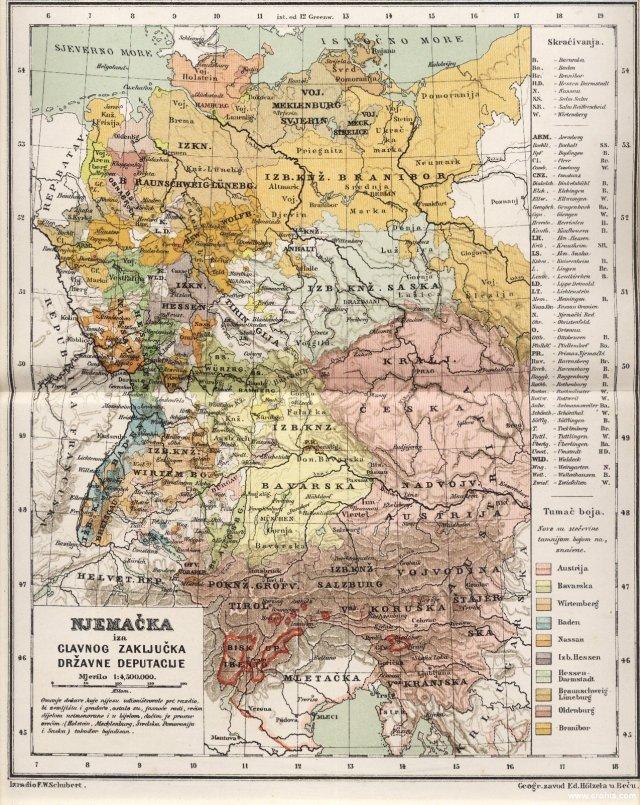Njemačka iza glavnog zaključka državne deputacije