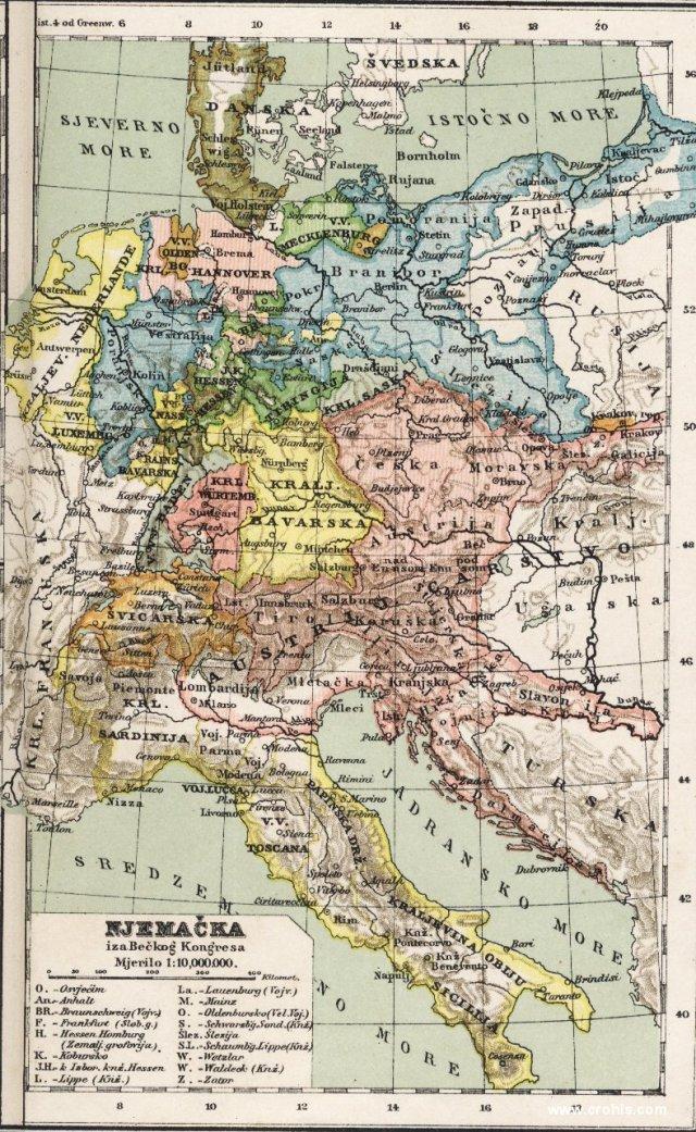 Njemačka iza Bečkog Kongresa