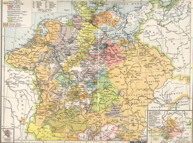 Njemačka za reformacije (1547.); Kneževina Orange; Vetinske zemlje 1547. i 1554.