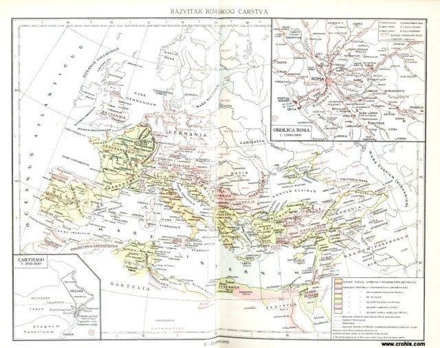 Razvitak rimskog carstva; Okolica Rima