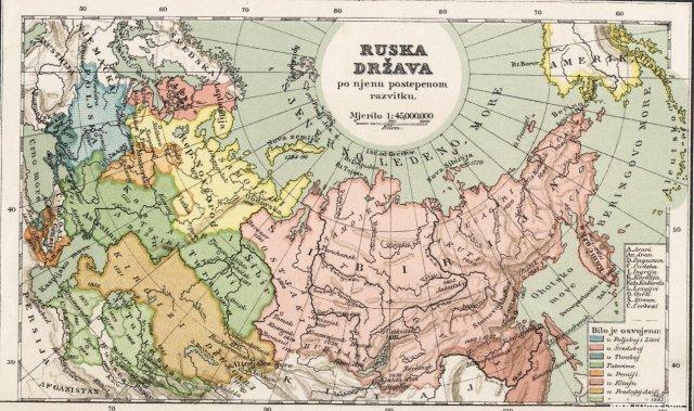 Ruska država po njenu postepenom razvitku