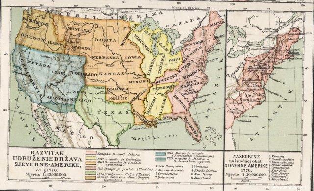 Razvitak Udruženih država Sjeverne Amerike