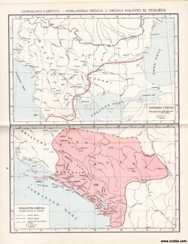 Samuilovo carstvo, Dukljanska država u drugoj polovici 11. stoljeća