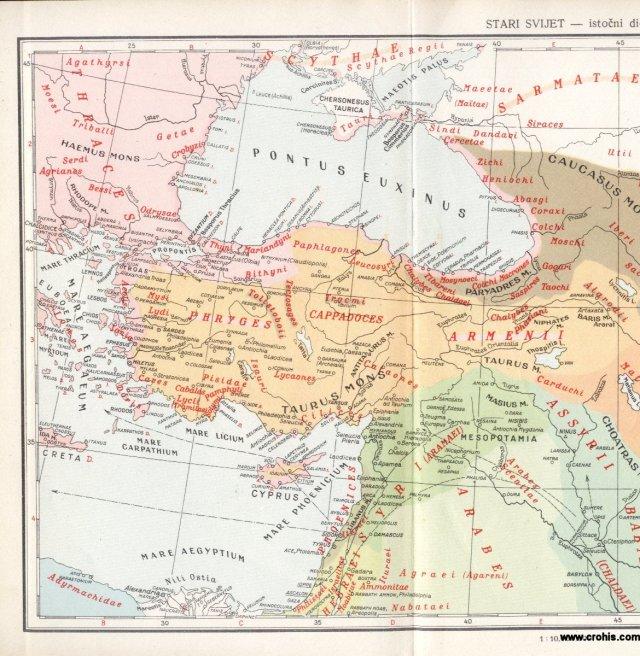 Stari svijet - istočni dio 1