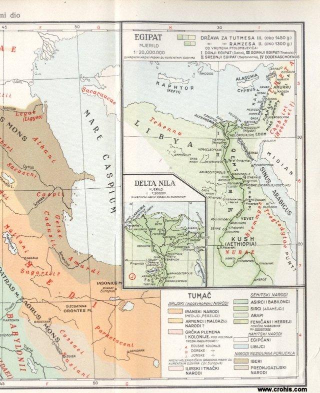 Stari svijet - istočni dio 2; Egipat