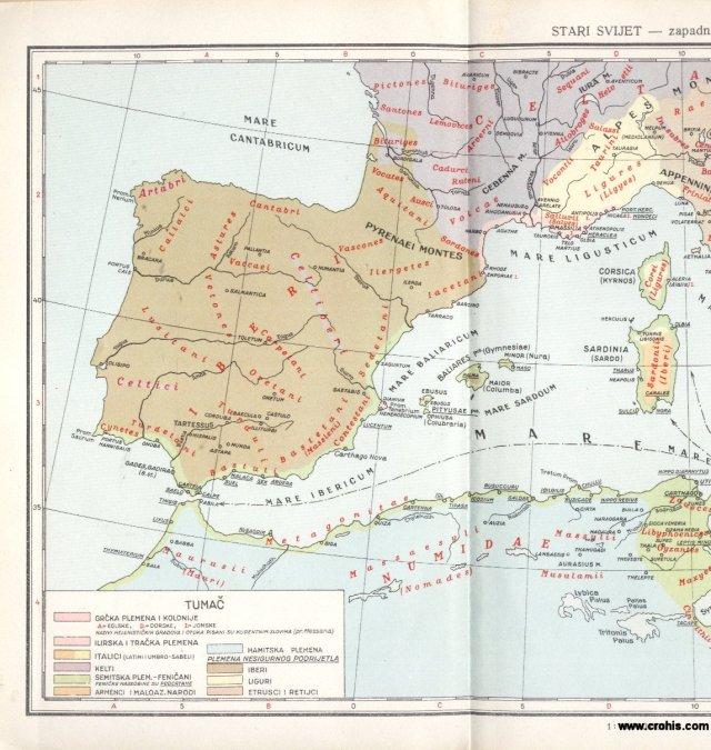 Stari svijet - zapadni dio 1