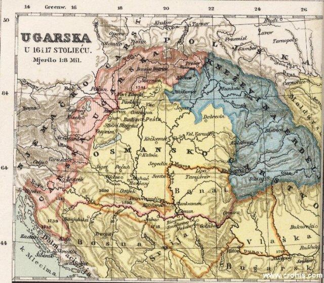 Ugarska u 16. i 17. stoljeću