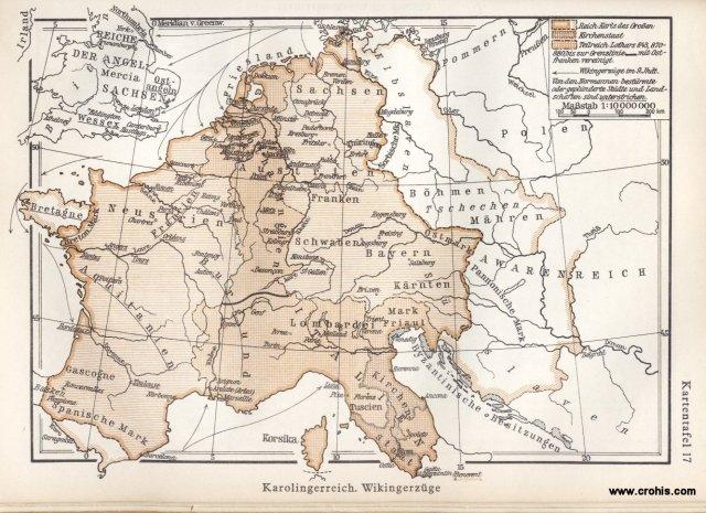 Karolinško carstvo i kretanja vikinga
