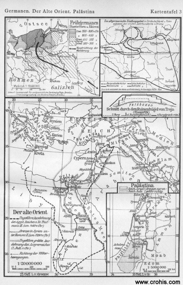 Germani, stari Istok i Palestina