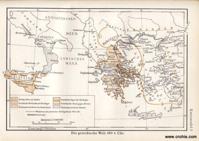 Grčki svijet oko 480. pr.Kr.