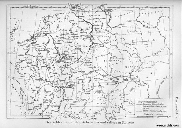 Njemačka pod saskim i salijskim carevima