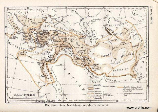Velesile Istoka i carstvo Perzijanaca